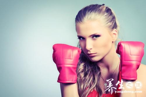 拳击与女人 柔克刚粉拳出击
