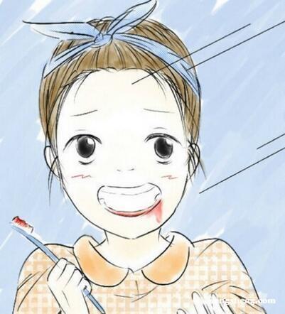 刷牙时老是牙龈出血怎么办?