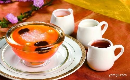 冬天畏寒怕冷多喝核桃红枣茶
